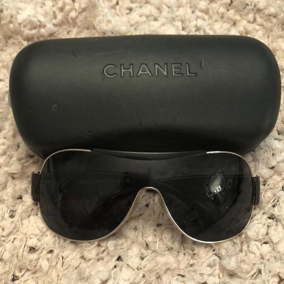 f42833d2a876 CHANEL Accessories - Authentic Chanel Sunglasses Shield